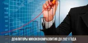 Индексы-дефляторы от Минэкономразвития до 2021 года